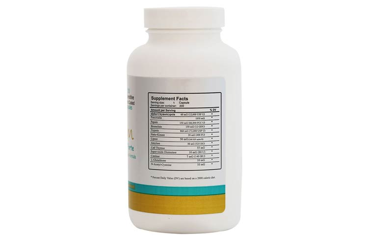 nutritional Facts Amygdalin Tablets